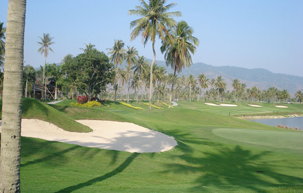 bunkers, pleasant valley golf club, pattaya, thailand