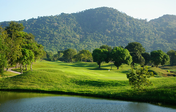 hills, emerald golf club, pattaya, thailand