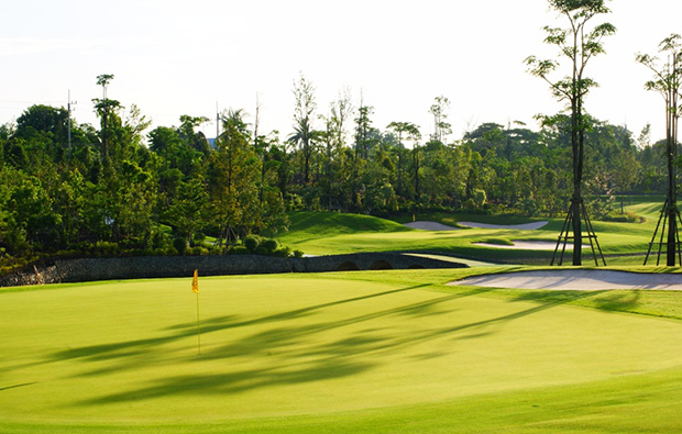 green, royal gems golf city, bangkok, thailand
