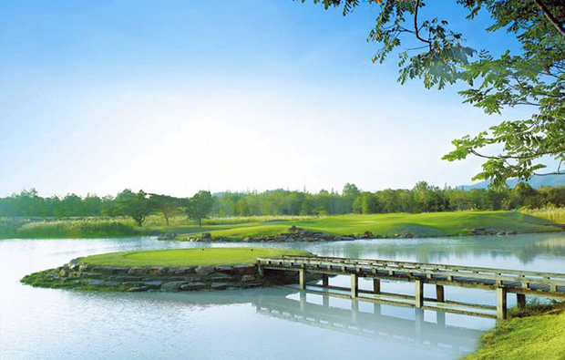 island tee, imperial lake view golf club, hua hin, thailand