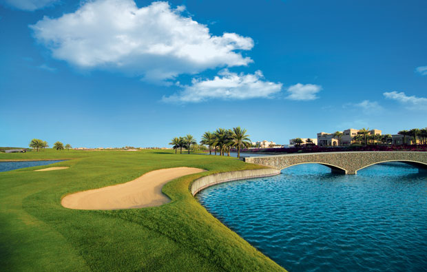 18th green, the address montgomerie dubai, dubai, united arab emirates