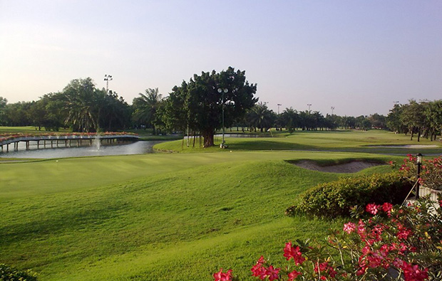 overview, pinehurst golf country club, bangkok, thailand