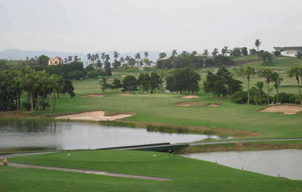 fairway, chi linh star golf club, hanoi, vietnam