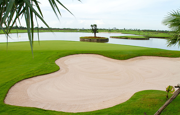 bunker, royal gems golf city, bangkok, thailand