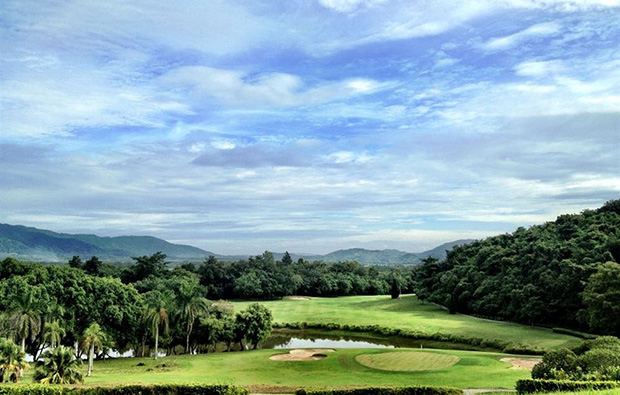 mountain view, waterford valley golf club, chiang rai, thailand