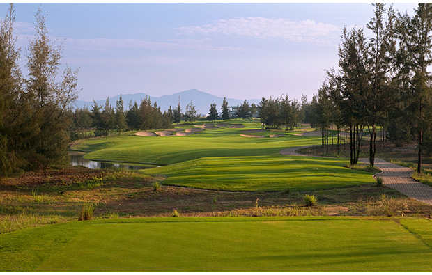 12th hole, montgomerie links, danang, vietnam