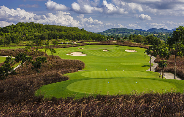 6th hole, siam country club plantation course, pattaya, thailand