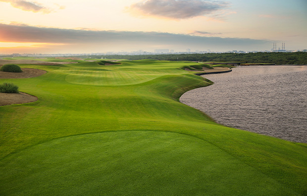 high tide al zorah golf club, dubai, united arab emirates