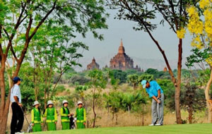 Bagan Golf Course, Bagan, Myanmar