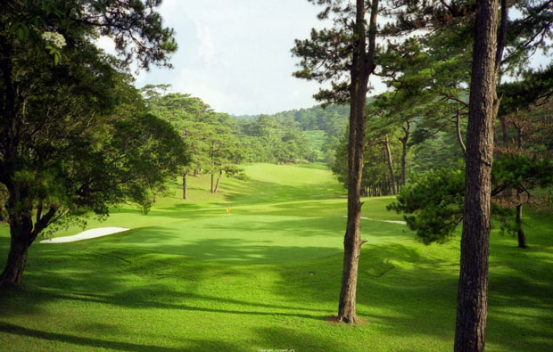 Baguio golf Country Club fairway