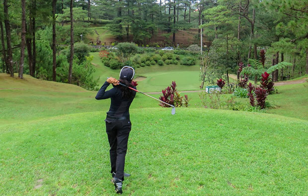 Baguio golf Country Club Tee Box
