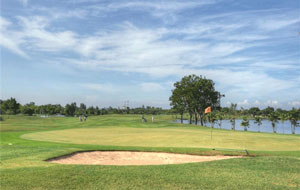 lakeside green,  bangpoo golf club, bangkok, thailand