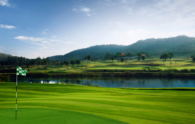 green, banyan golf club, hua hin, thailand