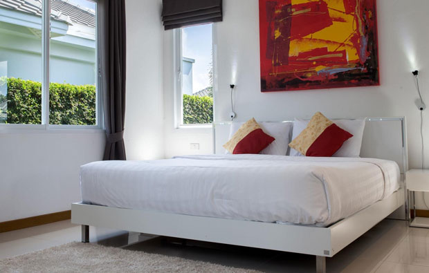 Black Mountain Golf Resort 1-bed Villa Bedroom