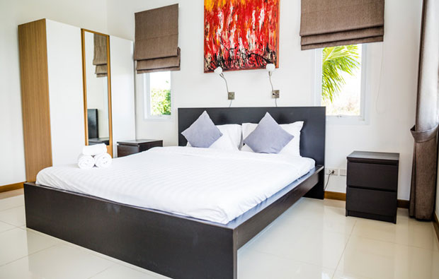 Black Mountain Golf Club Villa Bedroom