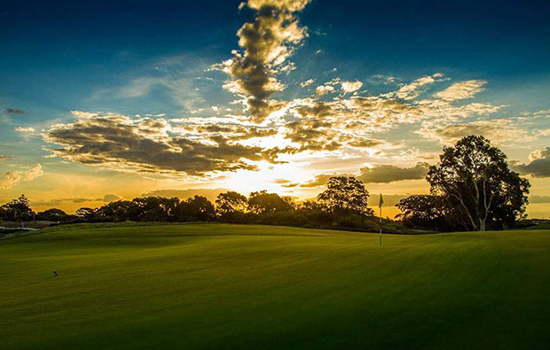 Another view of Bonnie Doon Golf Club, Sydney, Australia