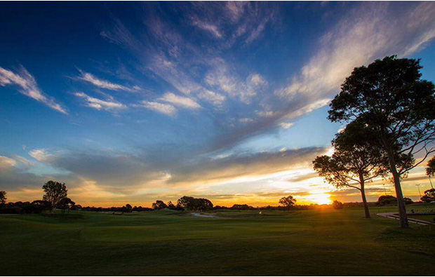 Sunset Bonnie Doon Golf Club, Sydney, Australia