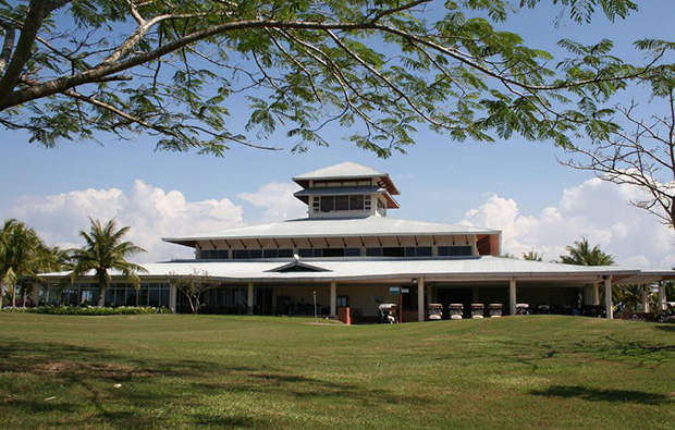 clubhouse view Borneo-Golf-and-Country, kota kinabalu, malaysia