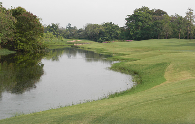 water hazzard navatanee golf course, bangkok, thailand