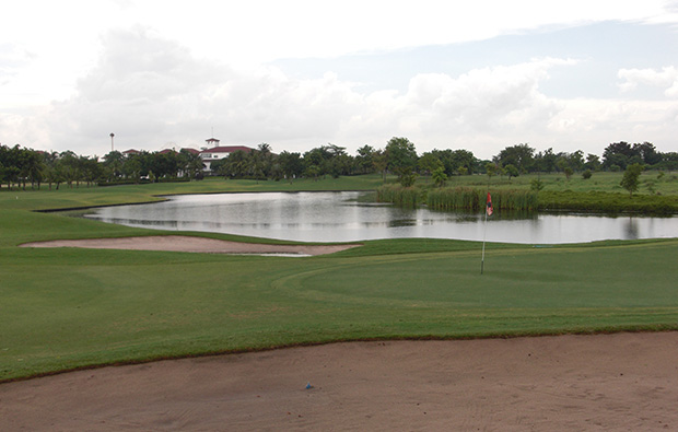 green, president country club, bangkok, thailand