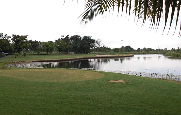 tee box, president country club, bangkok, thailand