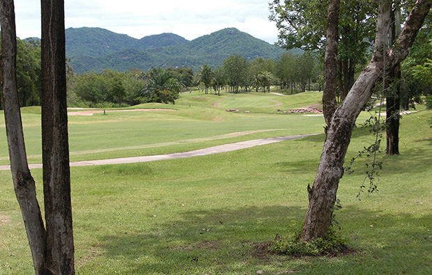fairway, imperial lake view golf club, hua hin, thailand