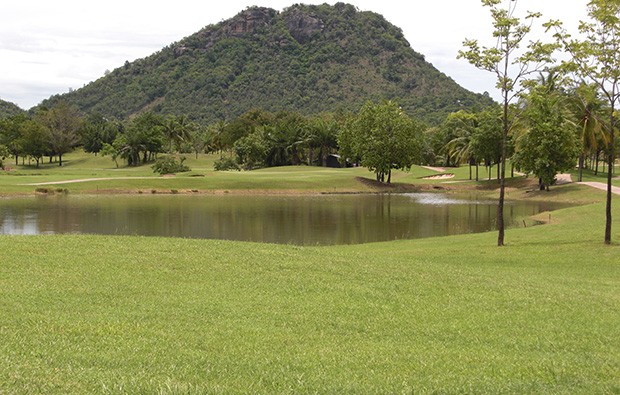 lake, imperial lake view golf club, hua hin, thailand