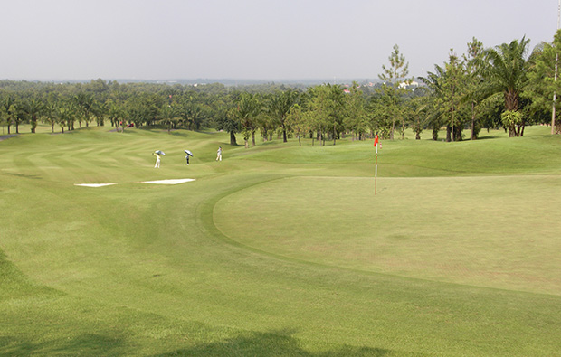 fairway, long thanh golf resort, ho chi minh, vietnam