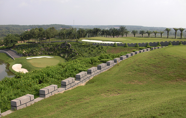 panorama, long thanh golf resort, ho chi minh, vietnam