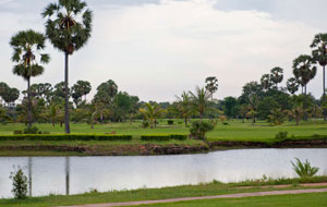 water hazard  Cambodia Golf Country Club