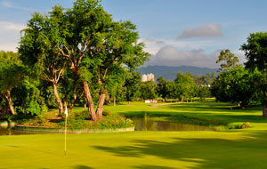 Green at Cebu Golf Country Club, Cebu, Philippines
