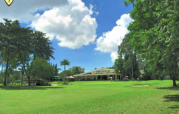 Clubhouse at Cebu Golf Country Club, Cebu, Philippines