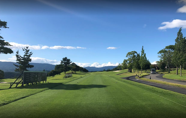 Cocopa Resort Club Mie Hakusan Golf Course Tee Box