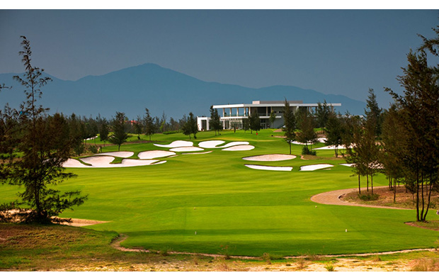 clubhouse, danang golf club, danang, vietnam