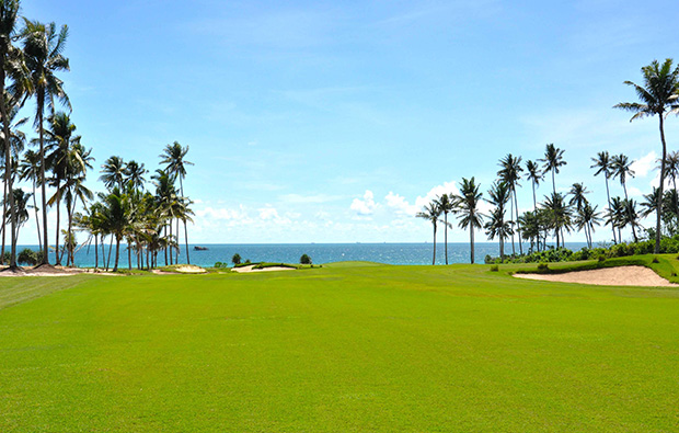 fairways to sea  laguna bintan golf club, bintan, indonesia