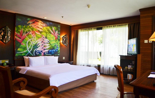 Damai Beach Resort roomshot