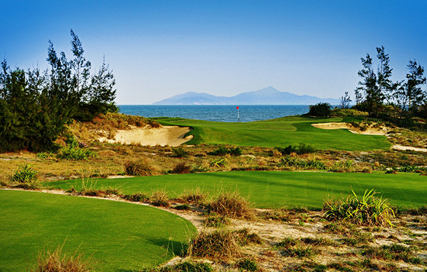 sea, danang golf club, danang, vietnam
