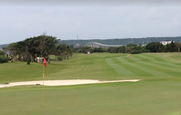 green Emerald Coast Golf Links