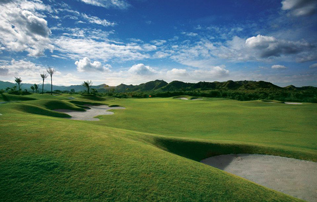Bunkers FA Korea Golf Country Club, Clark, Philippines