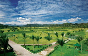 General view of FA Korea Golf Country Club, Clark, Philippines
