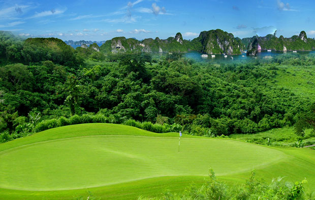 FLC Ha Long Bay Golf Club Aerial