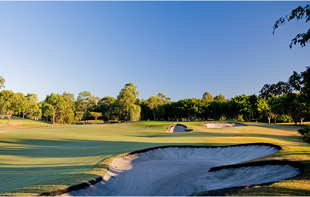 Fairway bunkers The Glades Golf Club, Gold Coast, Australia