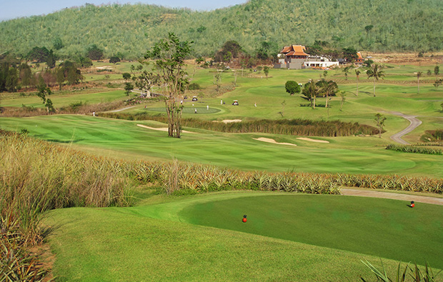 panorama, banyan golf club, hua hin, thailand