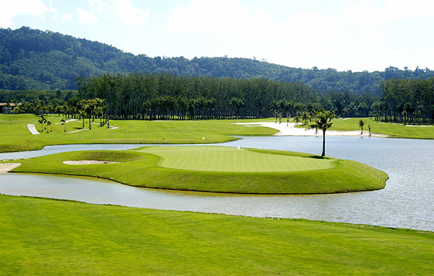island green mission hills golf resort, phuket