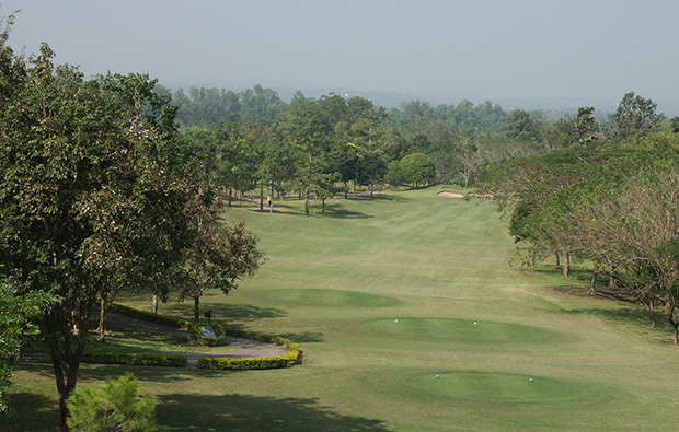 fairway, royal chiang mai golf resort, chiang mai, thailand