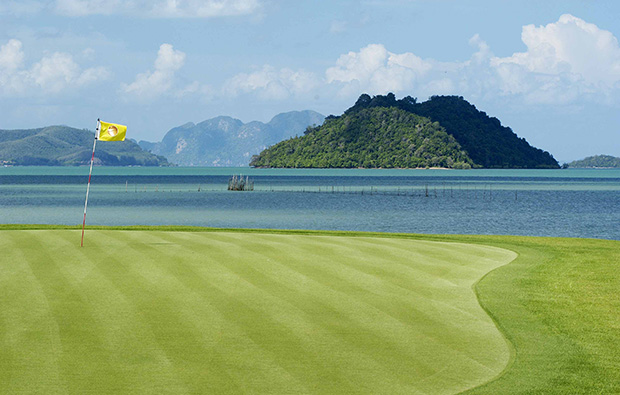 islands and flagstick mission hills golf resort, phuket