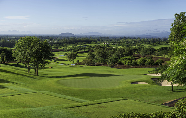 green 15, black mountain golf club, hua hin thailand