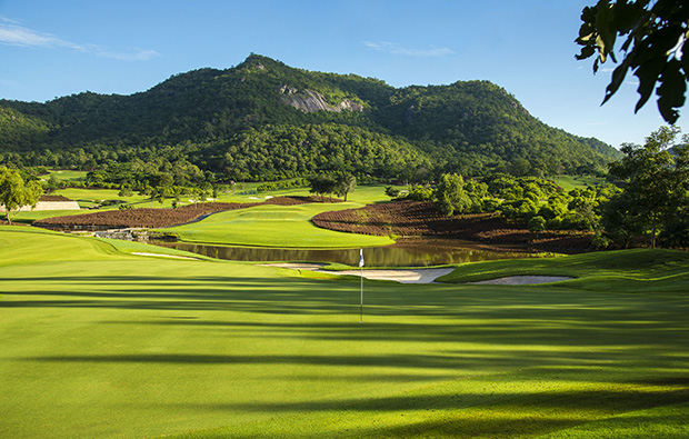 green 8, black mountain golf club, hua hin, thailand