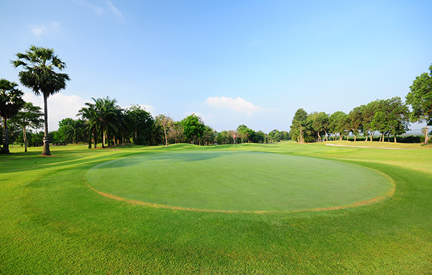 green, rayong green valley country club, pattaya, thailand