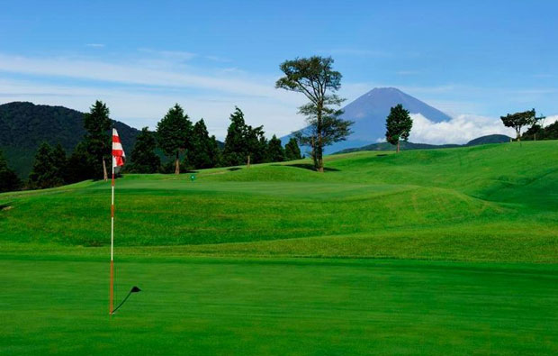 Hakone-en Golf Course Flagstick